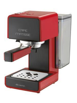 Ariete Кофеварка эспрессо 1363 Matisse. Мощность 900 Вт, 15 бар, черная. Цвет: красный