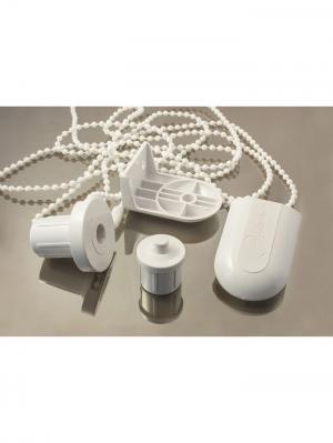 Комплект крепления для рулонной шторы Эскар. Цвет: белый