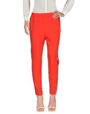 Повседневные брюки VDP CLUB. Цвет: красный