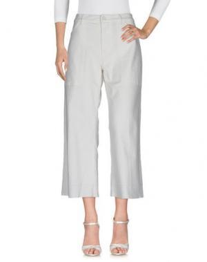Джинсовые брюки 19.70 NINETEEN SEVENTY. Цвет: слоновая кость