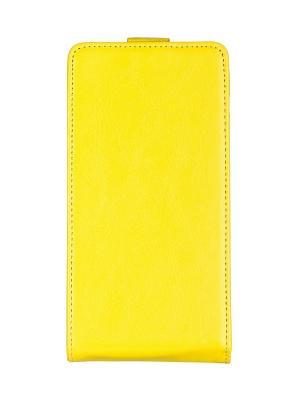 Flip case skinBOX Sony Xperia E4. Цвет: желтый
