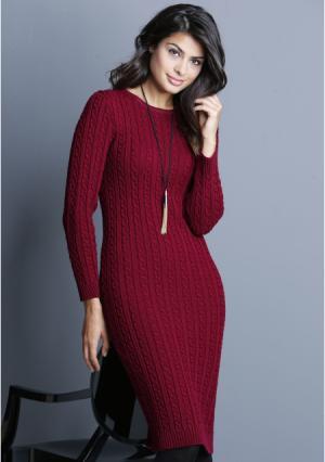 Платье MY STYLE. Цвет: красный, серый, черный