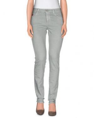 Джинсовые брюки UNLIMITED. Цвет: светло-зеленый