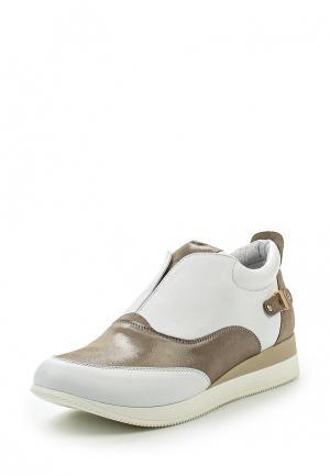 Ботинки Pink Frost. Цвет: белый