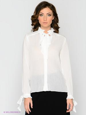 Блузка MELANY. Цвет: кремовый