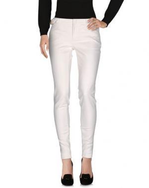 Повседневные брюки GUCCI. Цвет: белый