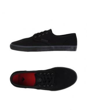 Низкие кеды и кроссовки EMERICA. Цвет: черный