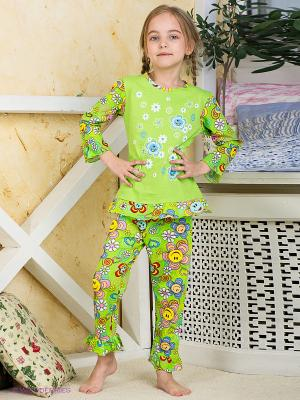 Пижама Хох. Цвет: салатовый