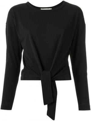 Knot detail blouse Giuliana Romanno. Цвет: чёрный
