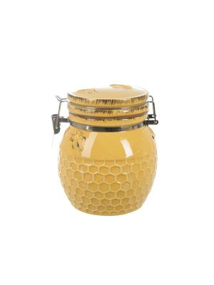 Банка для сыпучих продуктов Пчелка, ENS GROUP. Цвет: желтый