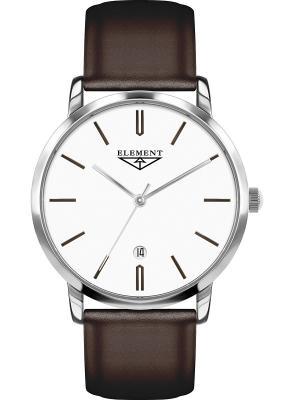 Часы 33 ELEMENT. Цвет: коричневый, белый, серебристый