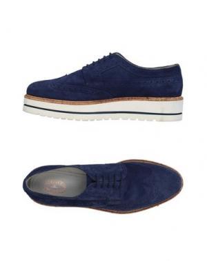 Обувь на шнурках TRIVER FLIGHT. Цвет: темно-синий