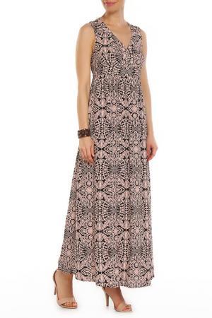 Платье отрезное по линии талии Finn Flare. Цвет: черный