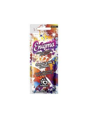 Крем для загара в солярии  Enigma с протеинами йогурта и маслом грецкого ореха (3 шт. упаковке) Solbianca. Цвет: бежевый