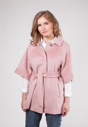 Пальто SHARTREZ. Цвет: розовый