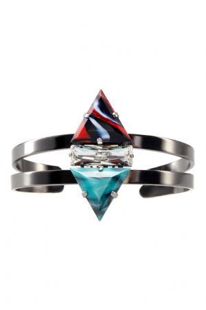 Браслет с кристаллами Anton Heunis. Цвет: multicolor