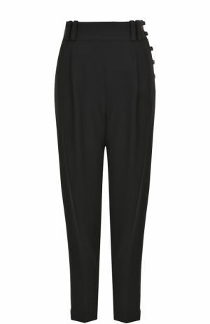 Укороченные брюки-бананы с широким поясом 3.1 Phillip Lim. Цвет: черный