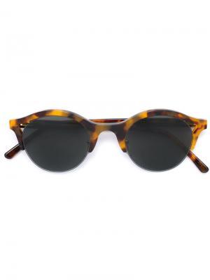 Солнцезащитные очки Sefilover Retrosuperfuture. Цвет: коричневый