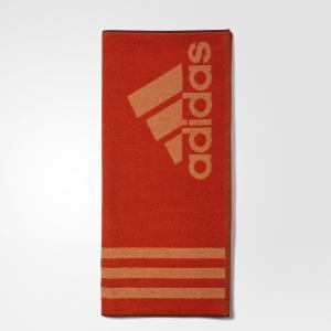 Полотенце  Performance adidas. Цвет: оранжевый