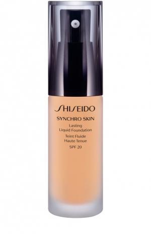 Устойчивое тональное средство Synchro Skin, оттенок Golden 2 Shiseido. Цвет: бесцветный