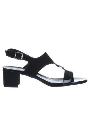 Босоножки на каблуке NILA. Цвет: black