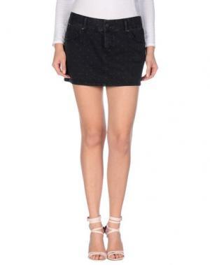 Джинсовая юбка 55DSL. Цвет: черный