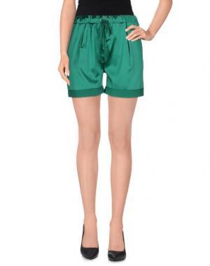 Повседневные шорты AMINA RUBINACCI. Цвет: зеленый