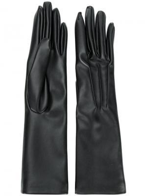Длинные перчатки Stella McCartney. Цвет: чёрный