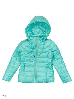 Куртка КАЛIНКА. Цвет: бирюзовый