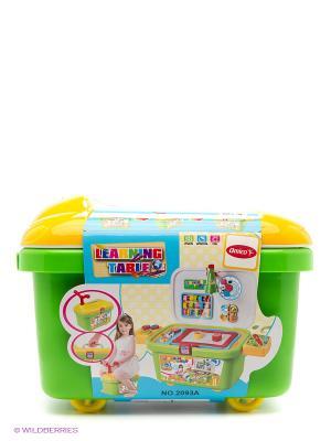 Набор школа в чемодане Amico. Цвет: зеленый