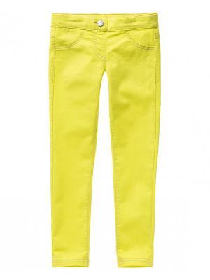 Брюки United Colors of Benetton. Цвет: бежевый, светло-желтый, горчичный