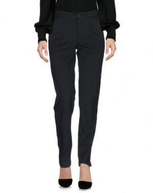 Повседневные брюки EUROPEAN CULTURE. Цвет: темно-зеленый