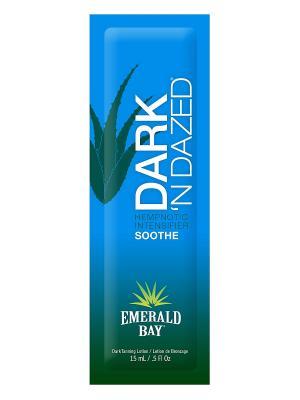 Крем для загара в солярии Dark n Dazed (15 мл) Emerald Bay. Цвет: бежевый