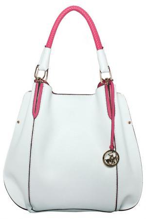 Bag Beverly Hills Polo Club. Цвет: white, fuchsia