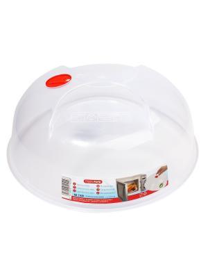 Крышка для микроволновой печи Migura. Цвет: белый, прозрачный, красный