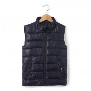 Стеганая куртка без рукавов, 3-12 лет R édition. Цвет: синий морской,синий