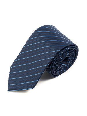 Галстук Pierre Lauren. Цвет: голубой, черный, синий