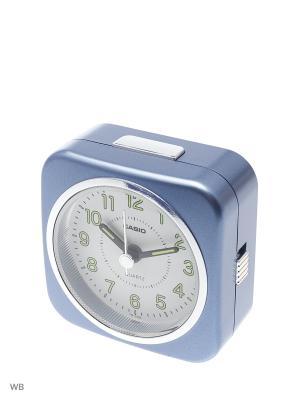 Часы настольные CASIO. Цвет: голубой
