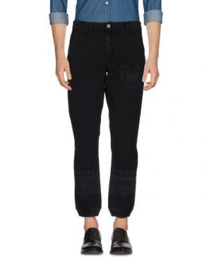 Повседневные брюки ROCK 'N' ROLL. Цвет: черный