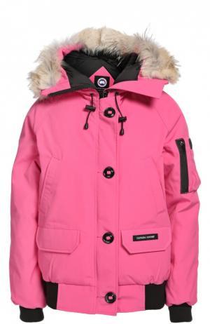 Куртка Canada Goose. Цвет: розовый