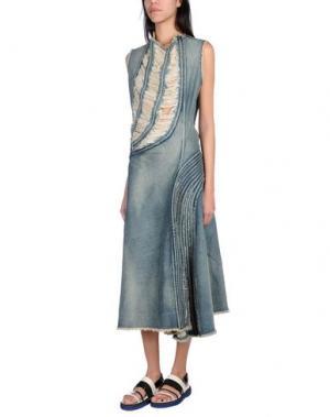 Длинное платье JUNYA WATANABE COMME DES GARÇONS. Цвет: синий