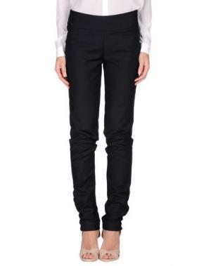 Повседневные брюки OBLIQUE CREATIONS. Цвет: черный