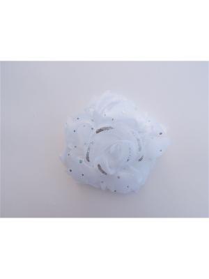 Резинка adress. Цвет: белый