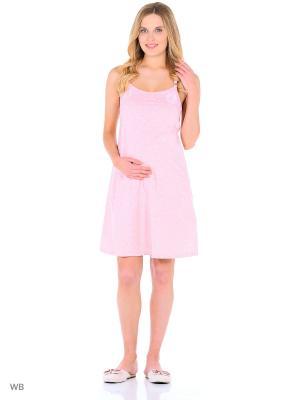 Ночная сорочка Hunny Mammy. Цвет: розовый