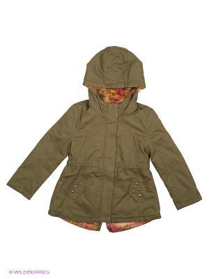Куртка Sisley Young. Цвет: оливковый, хаки
