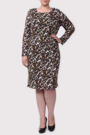 Платье Shalle. Цвет: цветной