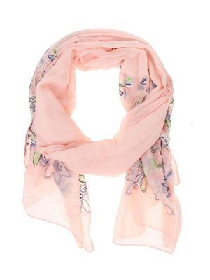 Палантин Migura. Цвет: розовый, зеленый, сиреневый