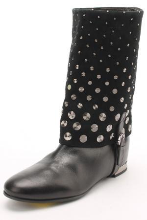 Ботинки Gerardina di Maggio. Цвет: черный