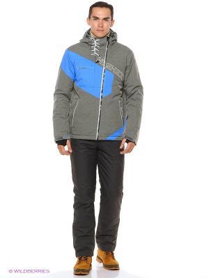 Куртка High Experience. Цвет: серый, синий