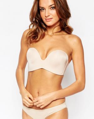 Wonderbra new ultimate strapless bra a. Цвет: бежевый
